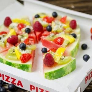 pizza di frutta