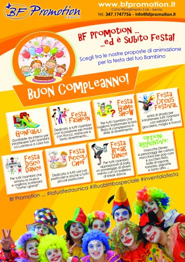 Organizza una festa di Compleanno Super!