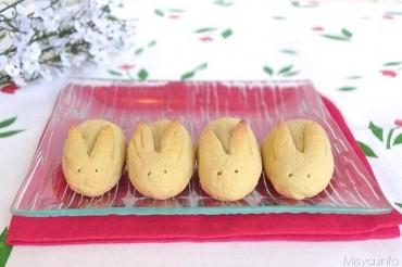 Coniglietti di pasta frolla