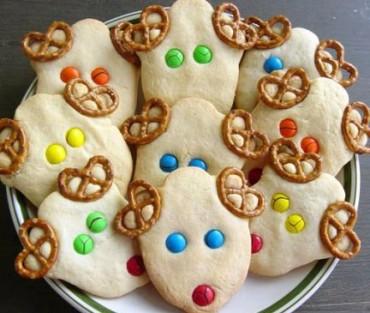 Biscotti a forma di renna