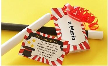 Invito per una festa di compleanno … MAGICA!