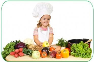 I bambini e i benefici di frutta e verdura